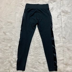 The Limited Pants & Jumpsuits - The Limited Leather Side Panel Stretch Pants